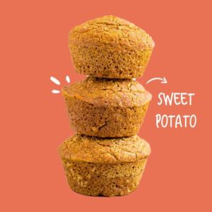 Pumpkin & Sweet Potato Muffins