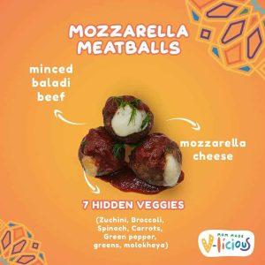 Cheesy Meat Balls